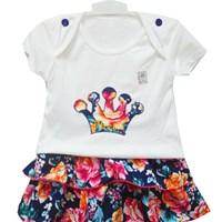 Pakaian Bayi Dress Bayi Vinata Ve - Flowers Crown Skirt