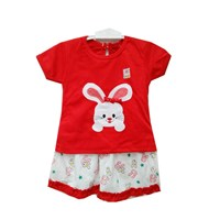 Pakaian Bayi Dress Bayi Vinata Vo - Cute Bunny Set