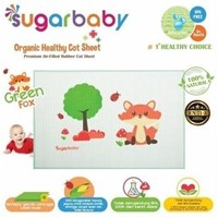 Sugar Baby Baby Care - Premium Organic Rubber Cot Sheet (Need Ondo)