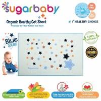 Perlak Bayi Sugar Baby  - Premium Organic Rubber Cot Sheet ( Perlak Ondo ) STAR