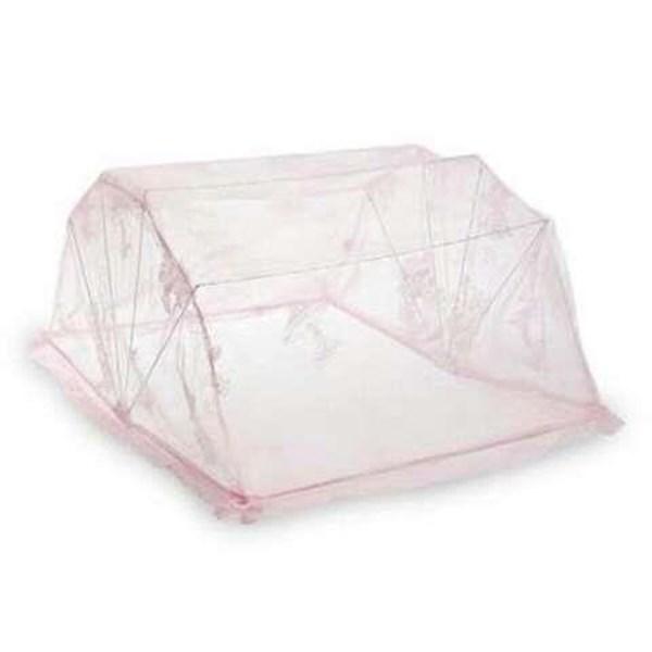 Box Bayi Kelambu Atau Kojong Bayi Dell Lipat - Pink