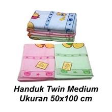 Perawatan Bayi Handuk Bayi Twin Tanggung/Medium Warna - Baby Bear