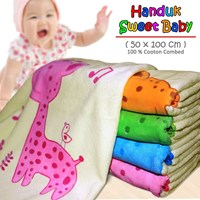Baby Care Sweet Baby Tanggung Baby Towel - List Neci
