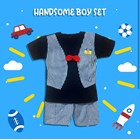 Baby Clothing Suits Cowata Shirt Vv - Handsome Boy Sset 2
