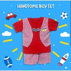 Baby Clothing Suits Cowata Shirt Vv - Handsome Boy Sset 3