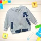 Baju Bayi Jaket Bayi Vinata Ey - Alphabet 1