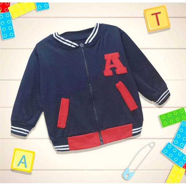 Baju Bayi Jaket Bayi Vinata Ey - Alphabet