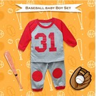 Baju Bayi Setelan Bayi Cowo Vinata Vo - Baseball Baby Boy Set 2