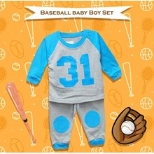 Baby Clothes Suit Boy Baby Vinata Vo - Baseball Ba