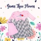 Gamis Anak Perempuan Bunga 1