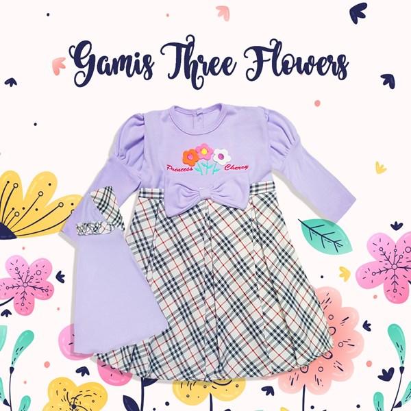 Gamis Anak Perempuan Bunga