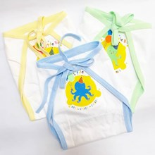 Popok Bayi Popok Kain Bayi Kiddy 3565 Putih