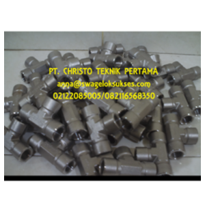 Dari Tube Fitting & Female Run Tee Swagelok 1/2 In 0