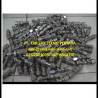 Jual Bulkhead Union Swagelok Stainless Steel 1/4 Inch