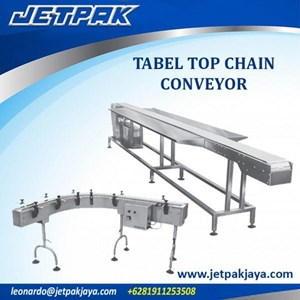 TABLE TOP CHAIN CONVEYOR