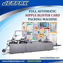 Full Automatic Nipple Blister Card Packing Machine - Alat Alat Mesin