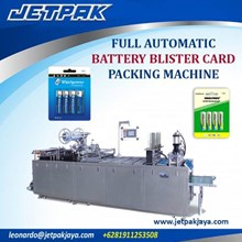 Alat Alat Mesin - Full Automatic Battery Blister Card Packing Machine