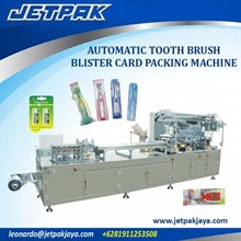 Alat Alat Mesin - Automatic Tooth Brush Blister Card Packing Machine