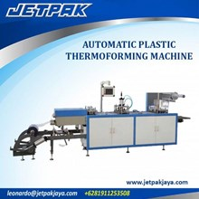Alat Alat Mesin - Automatic Plastic Thermofroming Machine A