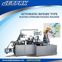 Alat Alat Mesin - Automatic Rotary Type Blister Cupboard Packing Machine