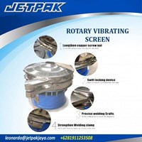 Jual Rotary Vibrating Screen - Alat Alat Mesin