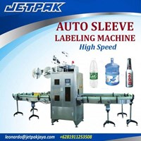 Auto Sleeve Labeling Machine High speed JET-600 - Mesin Label