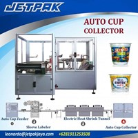 Jual Auto Cup Collector (Shrink Sleeve) - Mesin Thermal Shrink
