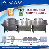 Jual Electric Heat Shrink Tunnel (Shrink Sleeve) - Mesin Thermal Shrink