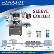 Auto Sleeve Labeling Machine Single head JET-250 - Mesin Thermal Shrink