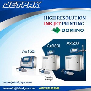 High Resolution INK JET Printing (DOMINO) - Mesin Pengkodean