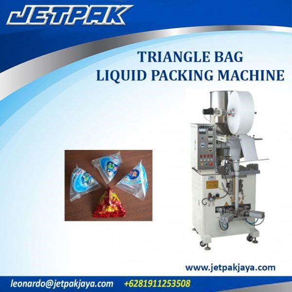 Triangle Bag Liquid Packing Machine - Mesin Pengisian