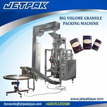 Big Volume Granule Vertical Packing Machine - Mesin Pengisian