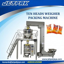 Ten Heads Weigher Vertical Packing Machine - Mesin Pengisian