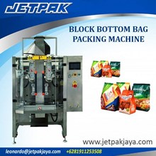 Block Bottom Bag Packing Machine - Mesin Pengisian