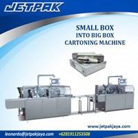 Small Box Into Big Box Cartoning Machine - Mesin Pembuat Kemasan