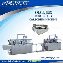 Small Box Into Big Box Cartoning Machine - Mesin Pembuat Kemasan