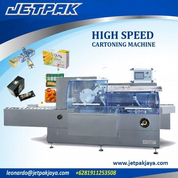 High Speed Cartoning Machine - Mesin Pengisian