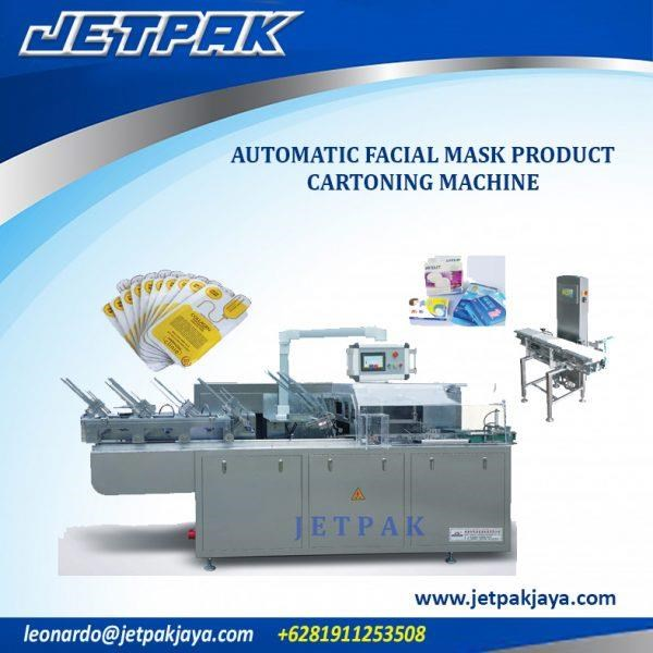 Automatic Facial Mask Product - Mesin Pengisian