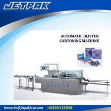 Automatic Blister Cartoning Machine - Mesin Pengis