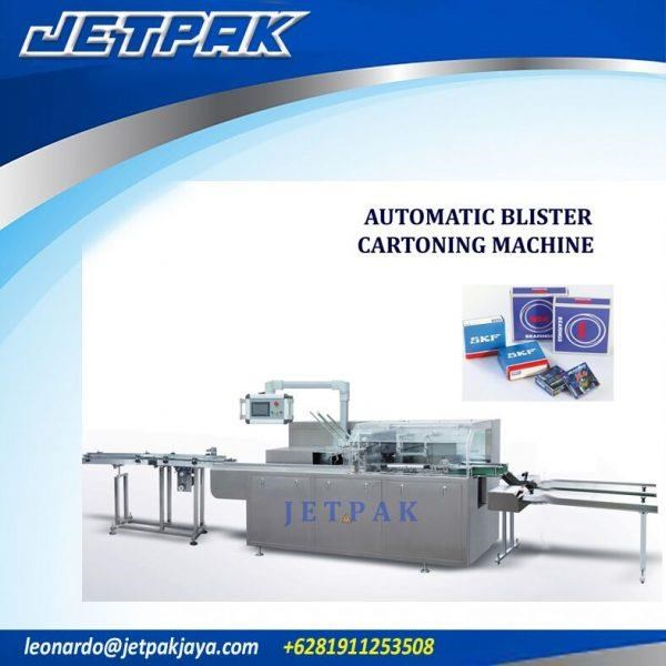 Automatic Blister Cartoning Machine - Mesin Pengisian