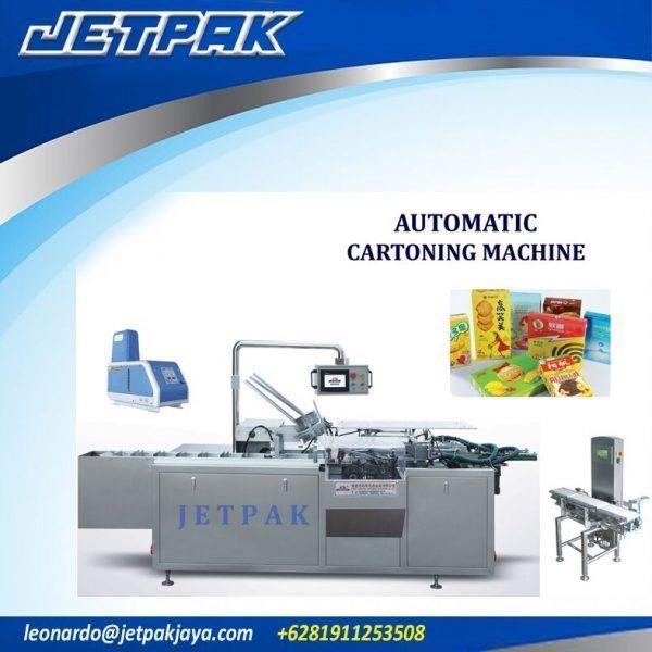Automatic Cartoning Machine 100A 160A - Mesin Pengisian