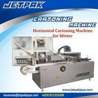 Horizontal Cartoning Machine for blister (JET-100) - Mesin Pengemas Obat