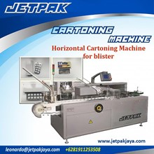 Horizontal Cartoning Machine for blister (JET-100) - Mesin Pengemas Obat