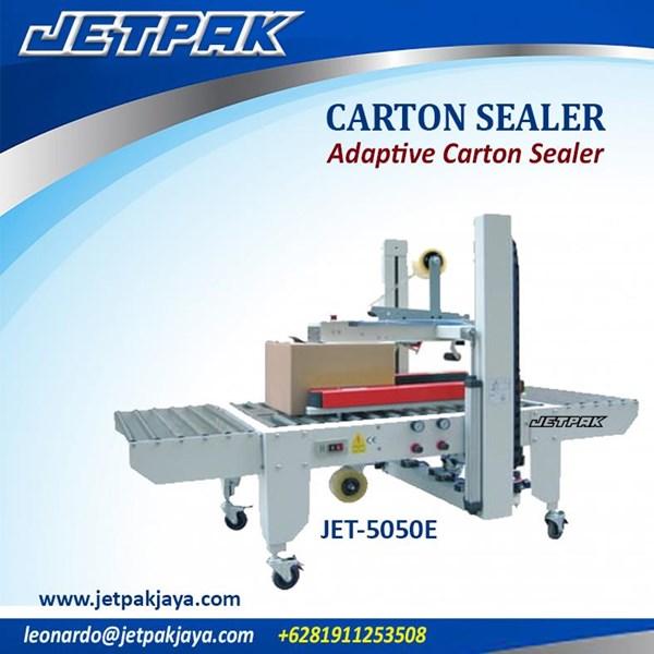 mesin kemasan makanan- carton seal