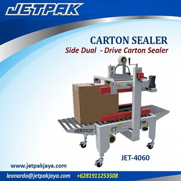 mesin kemasan makanan- carton seal 5