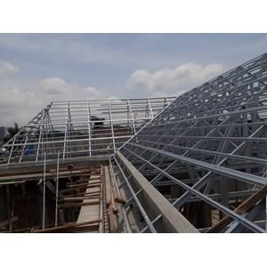 Jasa pemasangan rangka atap
