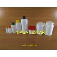 Jual Botol Plastik  dan pot lem