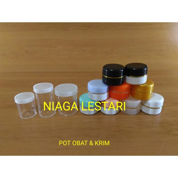Pot Cream / Botol Kosmetik