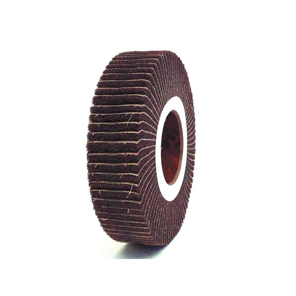 Non Woven Abrasive Combi Flap Brush Wheel