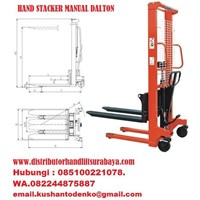 Hand stacker forklift manual